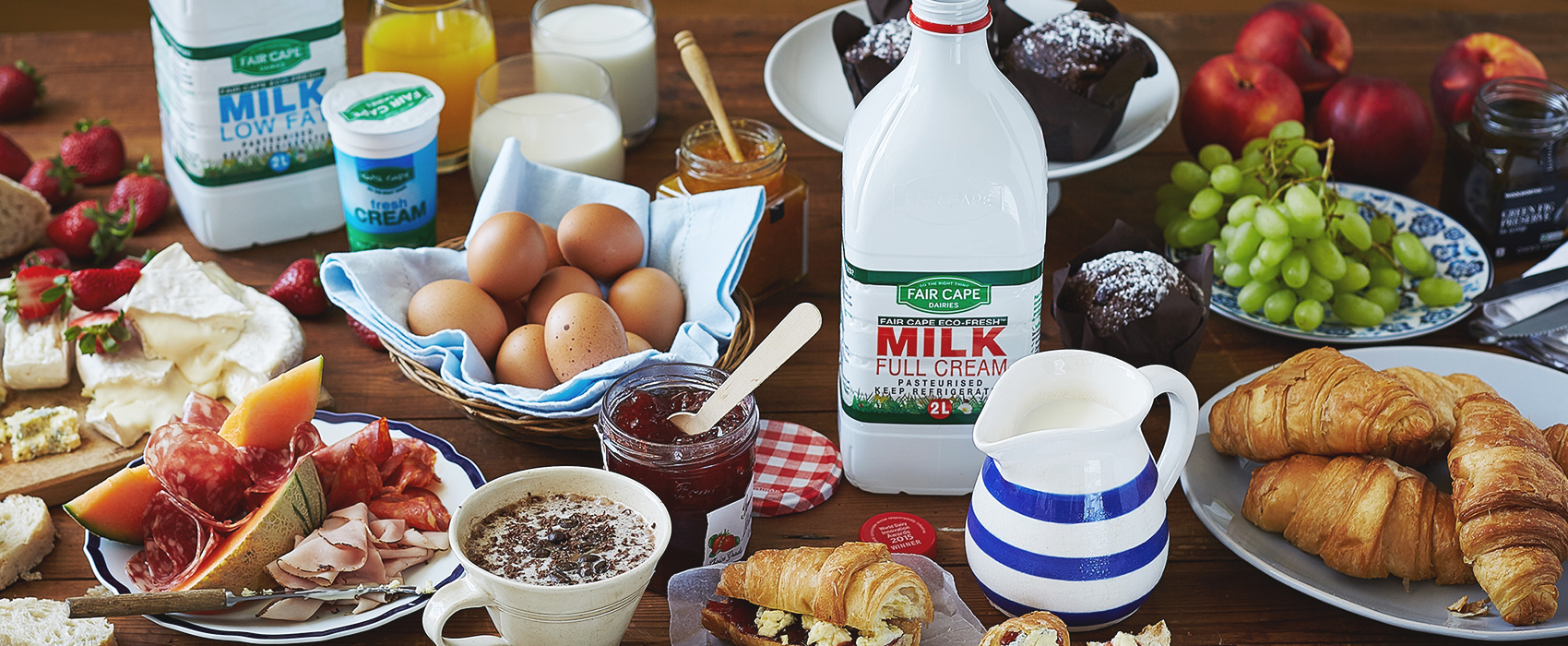 Francois Dairy - Dairy And Egg Distributor - Breakfast
